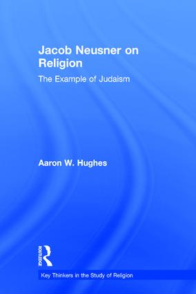 Jacob Neusner on Religion: The Example of Judaism book cover