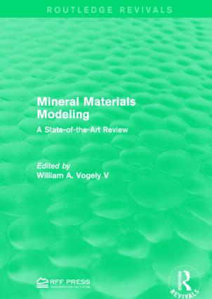 Mineral Materials Modeling: A State-of-the-Art Review book cover