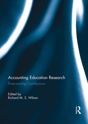 Accounting Education Research: Prize-winning Contributions, 1st Edition (Paperback) book cover