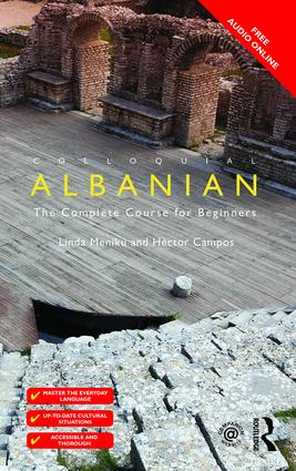 Colloquial Albanian: The Complete Course for Beginners book cover