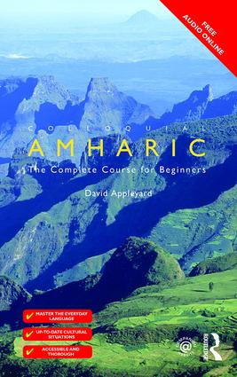 Colloquial Amharic book cover