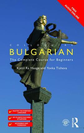 Colloquial Bulgarian book cover