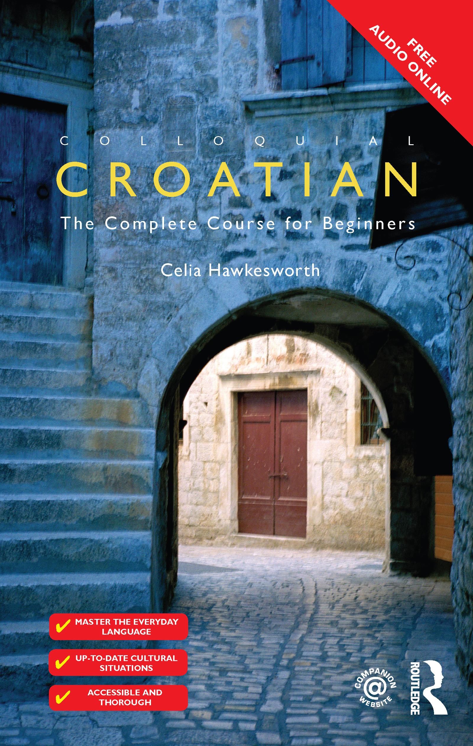 Colloquial Croatian book cover