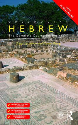 Colloquial Hebrew (Paperback) book cover