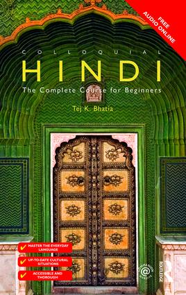 Colloquial Hindi: The Complete Course for Beginners, 2nd Edition (Paperback) book cover