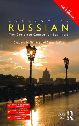 Colloquial Russian: The Complete Course For Beginners book cover