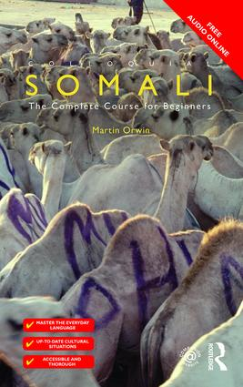 Colloquial Somali book cover