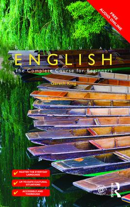 Colloquial English: The Complete Course for Beginners, 2nd Edition (Paperback) book cover