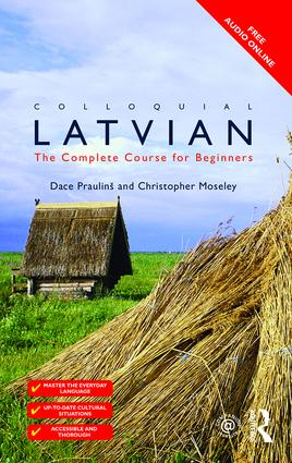 Colloquial Latvian: The Complete Course for Beginners, 2nd Edition (Paperback) book cover