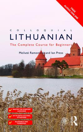Colloquial Lithuanian: The Complete Course for Beginners book cover