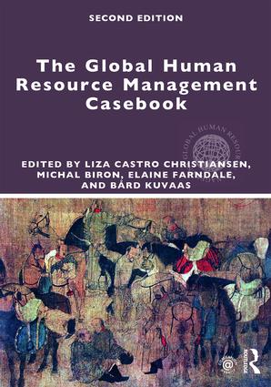 Global Human Resource Management Casebook book cover