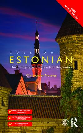 Colloquial Estonian: 2nd Edition (Paperback) book cover