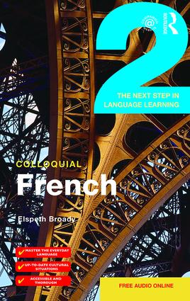 Colloquial French 2: The Next step in Language Learning book cover