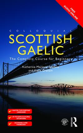 Colloquial Scottish Gaelic: The Complete Course for Beginners book cover