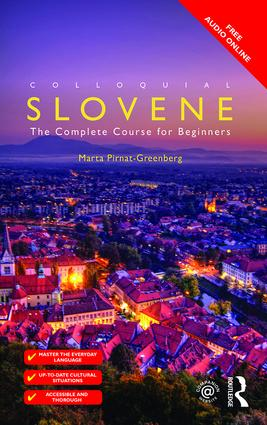 Colloquial Slovene: The Complete Course for Beginners book cover
