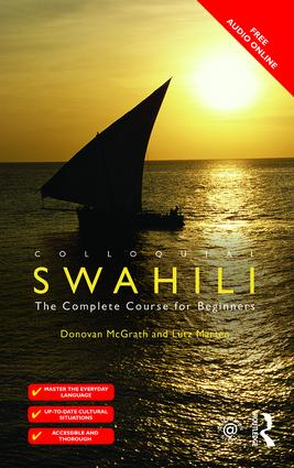 Colloquial Swahili: The Complete Course for Beginners book cover