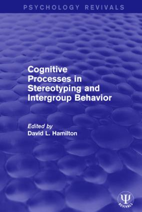 Conceptual Approaches to Stereotypes and Stereotyping