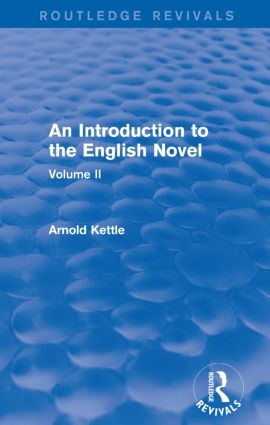 An Introduction to the English Novel: Volume II, 1st Edition (e-Book) book cover
