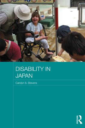 Disability in Japan: 1st Edition (Paperback) book cover