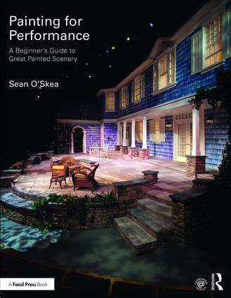 Painting for Performance: A Beginner's Guide to Great Painted Scenery book cover