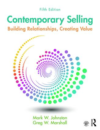 Contemporary Selling: Building Relationships, Creating Value book cover