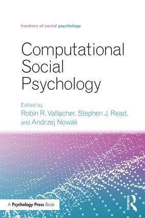 Computational Social Psychology book cover