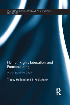 Human Rights Education and Peacebuilding: A comparative study book cover