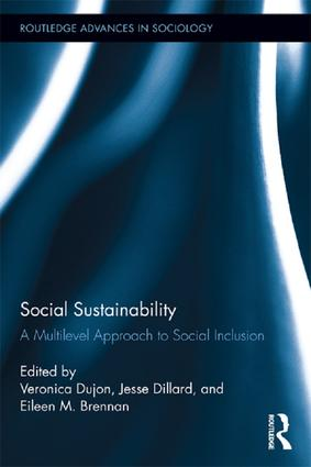 Social Sustainability: A Multilevel Approach to Social Inclusion, 1st Edition (Paperback) book cover