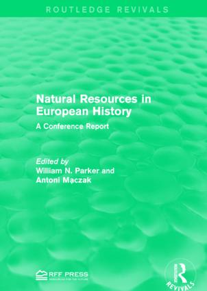 Natural Resources in European History: A Conference Report book cover