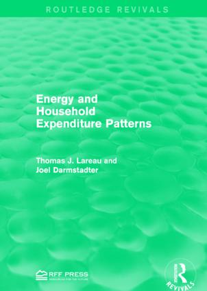 Energy and Household Expenditure Patterns: 1st Edition (Paperback) book cover