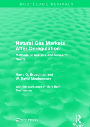 Natural Gas Markets After Deregulation: Methods of Analysis and Research Needs book cover