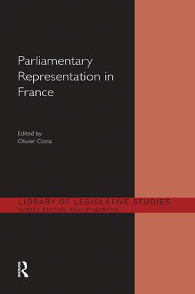 Parliamentary Representation in France: 1st Edition (Paperback) book cover