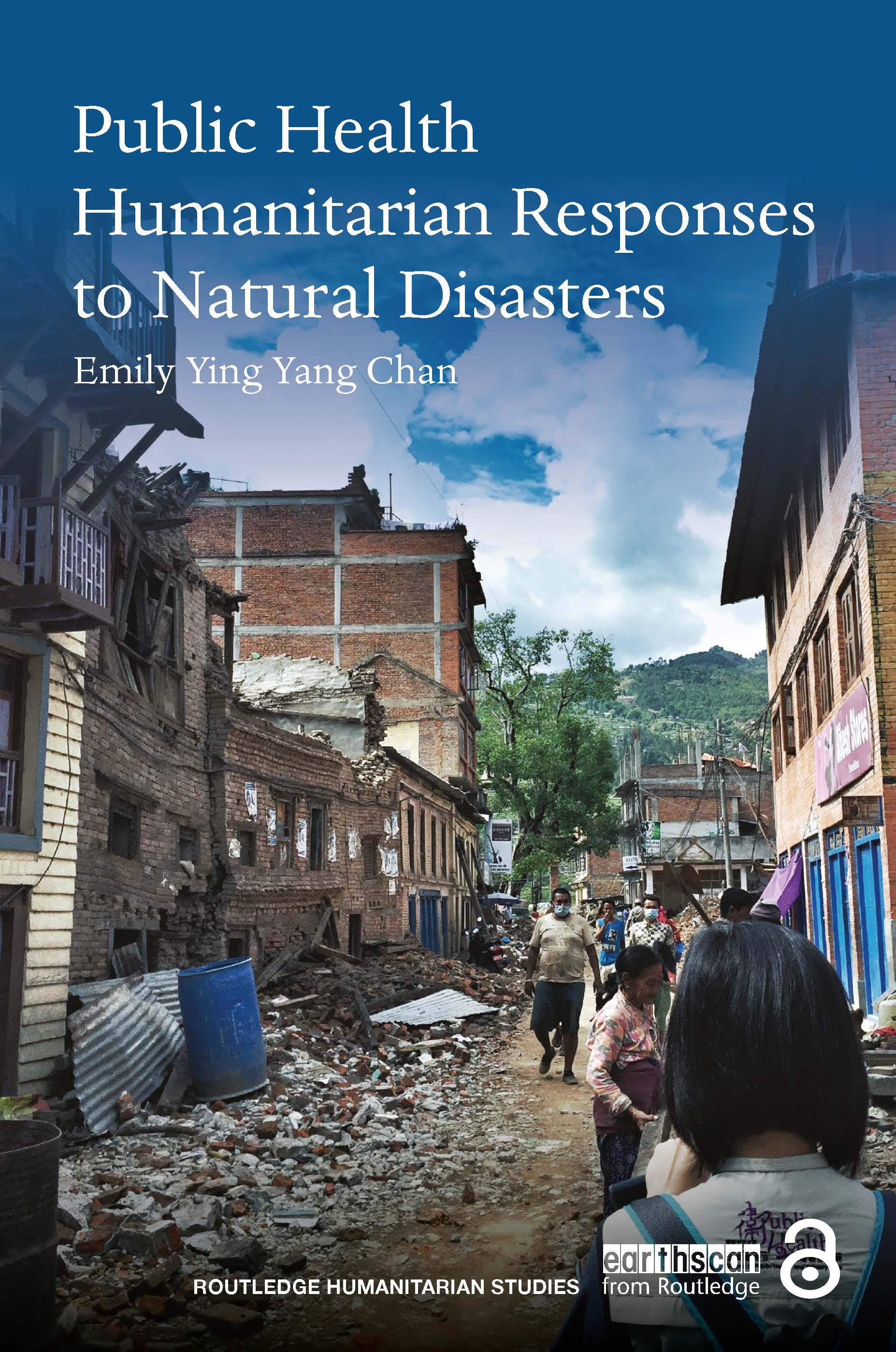 Public Health Humanitarian Responses to Natural Disasters (Paperback) book cover