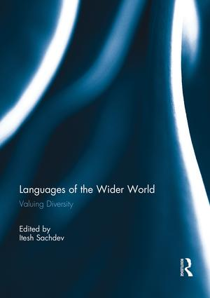 Languages of the Wider World: Valuing Diversity book cover