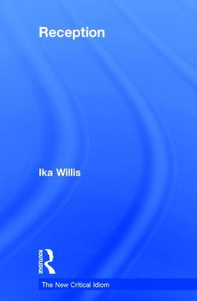 Reception book cover