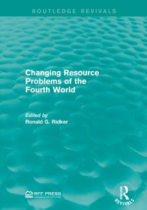 Changing Resource Problems of the Fourth World