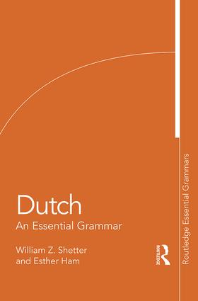 Dutch: An Essential Grammar book cover