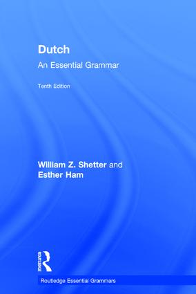 Dutch: An Essential Grammar book cover