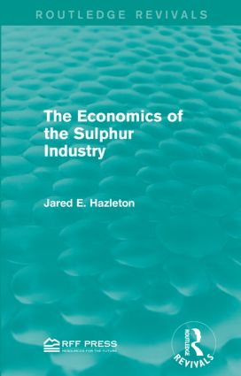 The Industry and the Resource