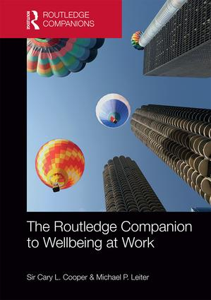 The Routledge Companion to Wellbeing at Work book cover