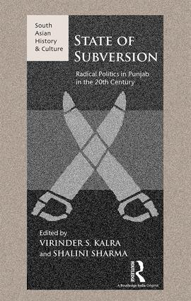 State of Subversion: Radical Politics in Punjab in the 20th Century book cover