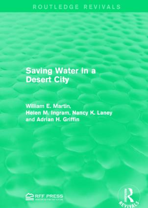 Saving Water in a Desert City book cover