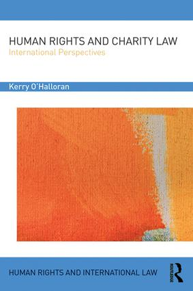 Human Rights and Charity Law: International Perspectives, 1st Edition (Hardback) book cover