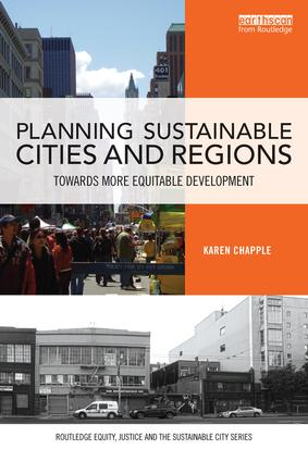 Planning Sustainable Cities and Regions: Towards More Equitable Development book cover