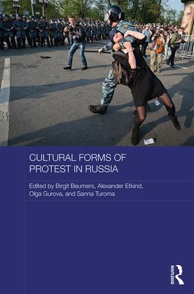 Cultural Forms of Protest in Russia (Hardback) book cover