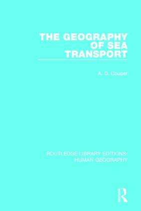 The Geography of Sea Transport book cover