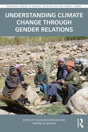 Understanding Climate Change through Gender Relations book cover