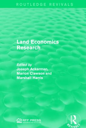 Land Economics Research