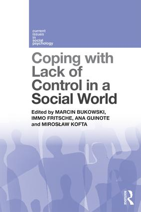 Coping with Lack of Control in a Social World: 1st Edition (Paperback) book cover