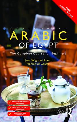 Colloquial Arabic of Egypt: The Complete Course for Beginners book cover